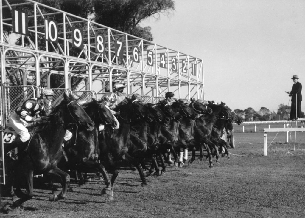 The starting stalls became a huge success with a second set made for Balaklava, South Australia, and a third set for Pakenham, Victoria in 1959.