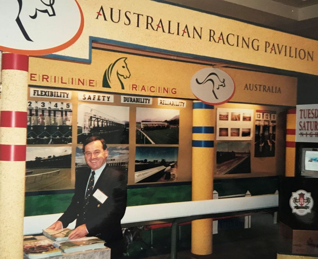 John Fargher became General Manager of Steriline and drove the focus of the business towards safer horse racing products