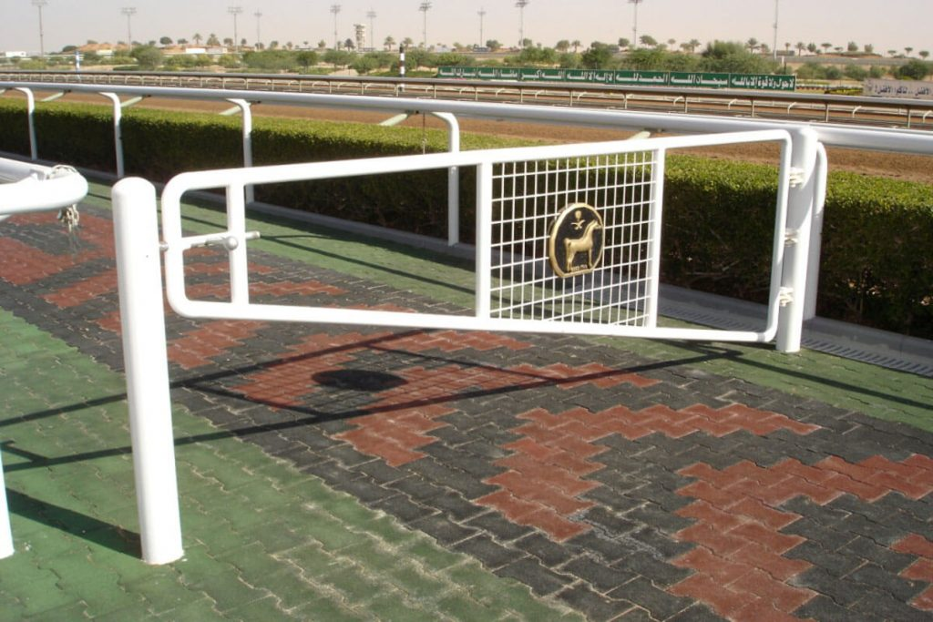 Steriline manufactured and installed unique fencing for Al Janadriyah in Saudi Arabia