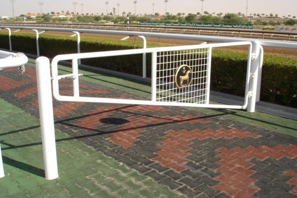 Steriline manufactured and installed unique fencing for Al Janadriyah in Saudi Arabia