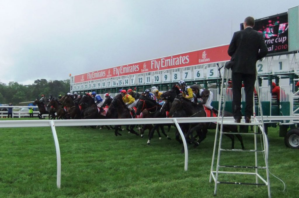 Steriline manufactured the world's first 25 stall starting gate to feature at the 150th running of the Melbourne Cup for the Victorian Racing Club at Flemington