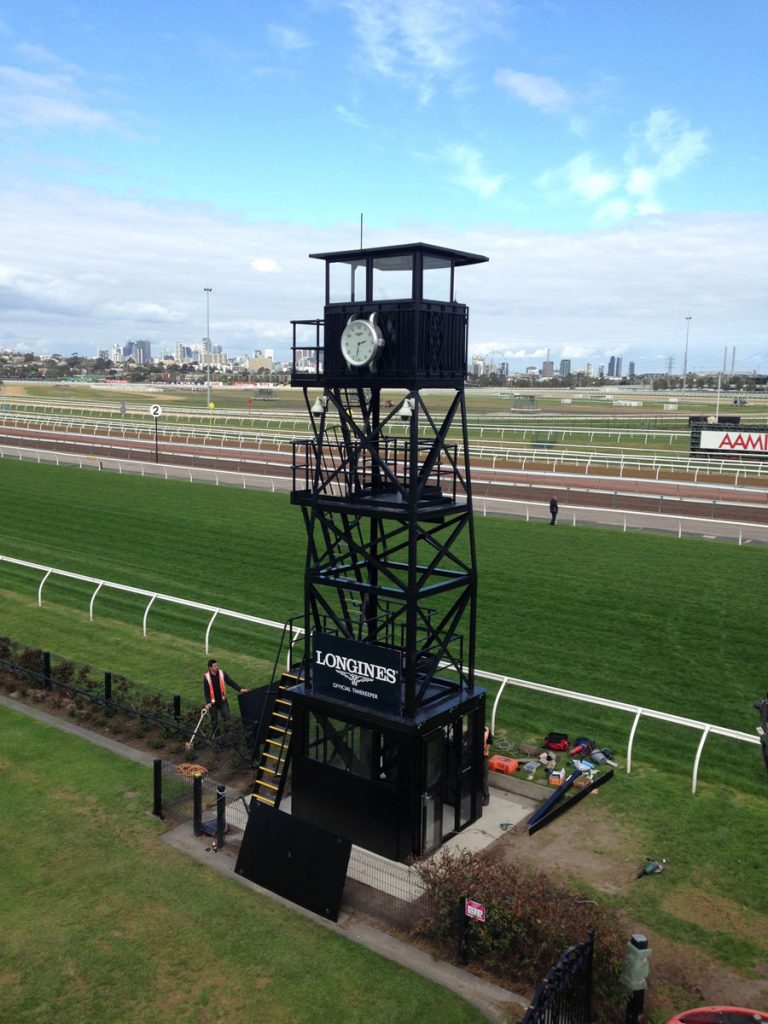 Design and manufacture of a heritage style replacement clock tower for the Victoria Racing Club, Flemington racecourse that met current standards and safety requirements