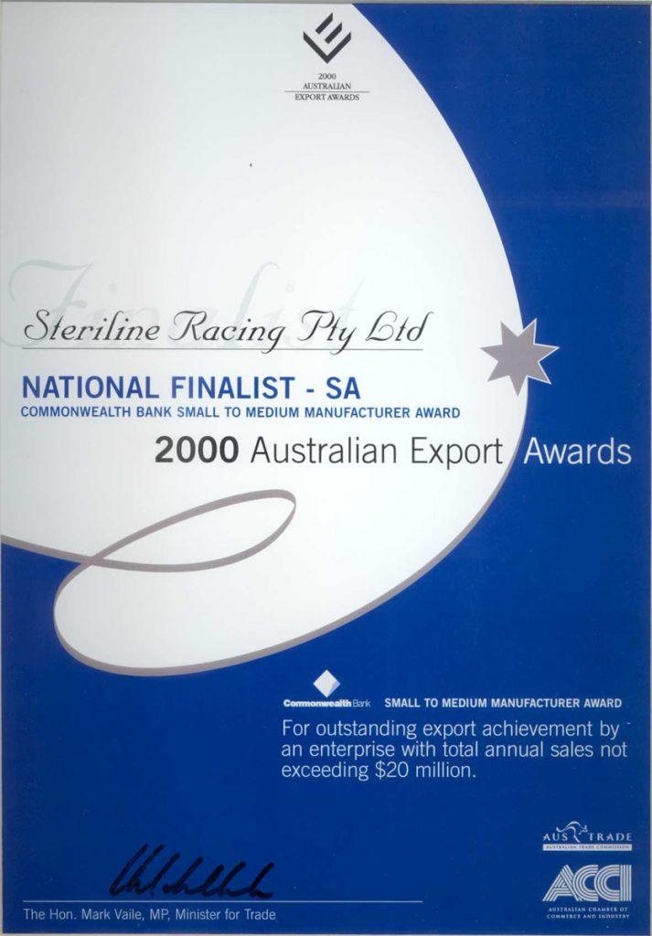 Export Awards National Finalist