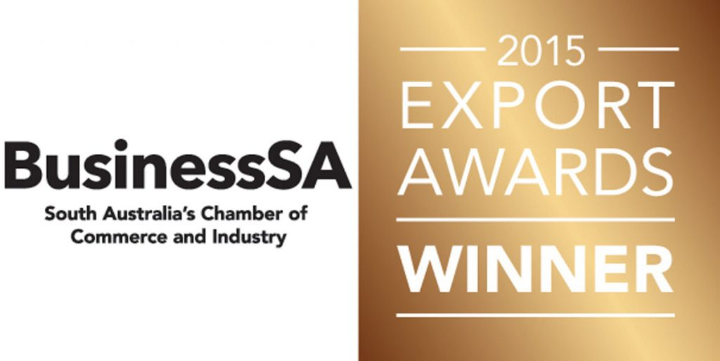 Export Awards South Australia Winner